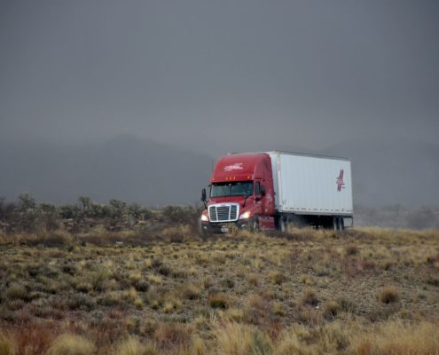 Transport vrachtwagen