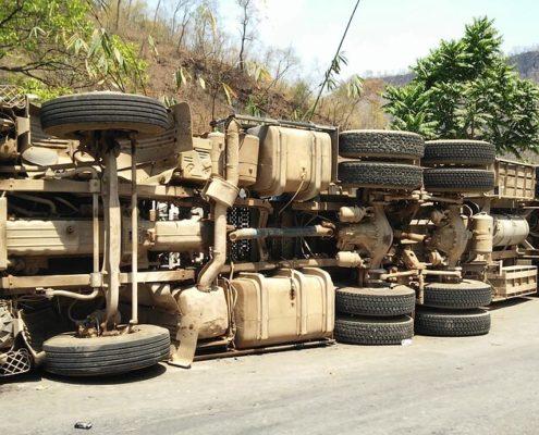 transport ongevallen